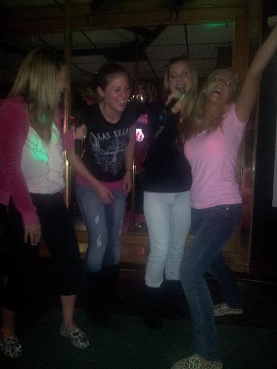 karaoke pink