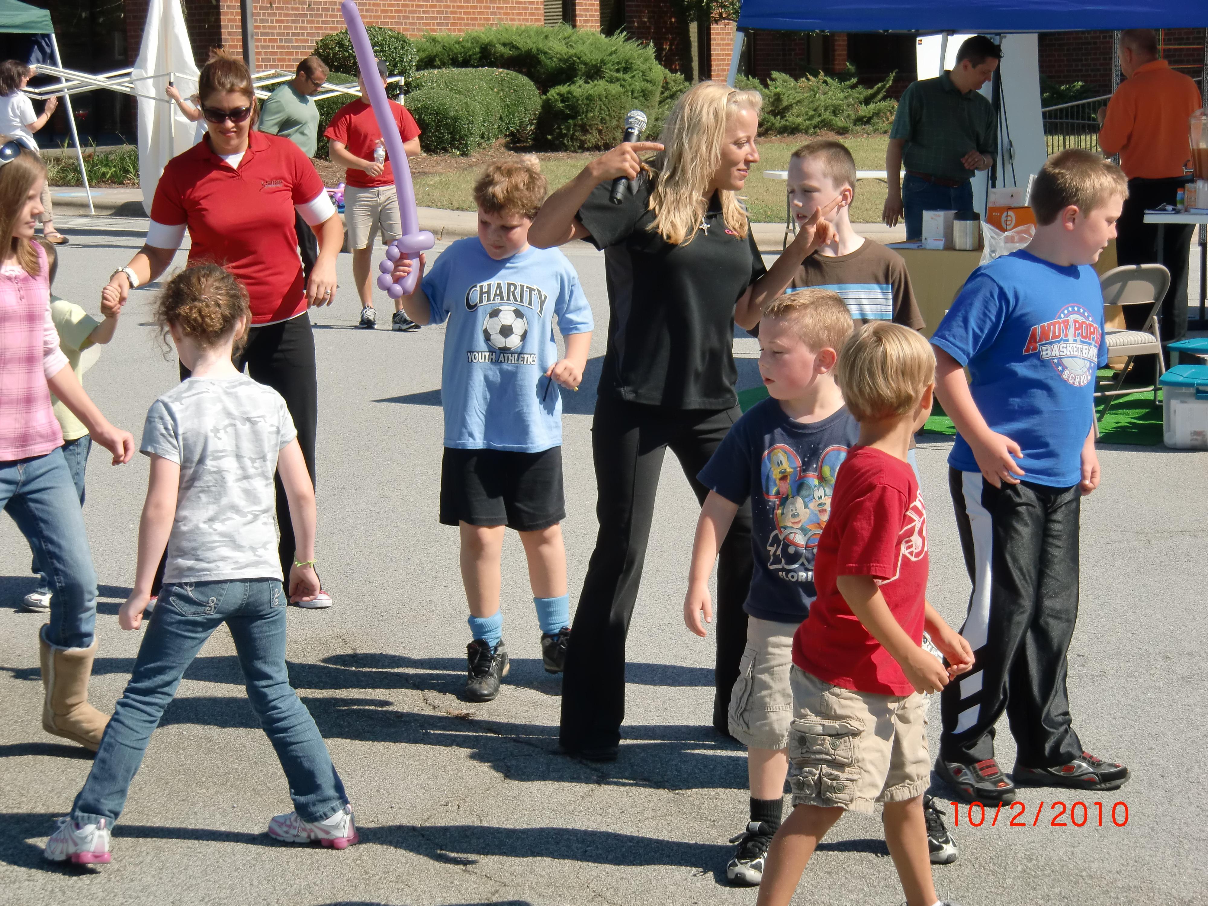 cupid shuffle with kids
